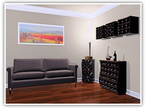 Curvy Wine Racks